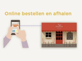 Online bestellen en afhalen